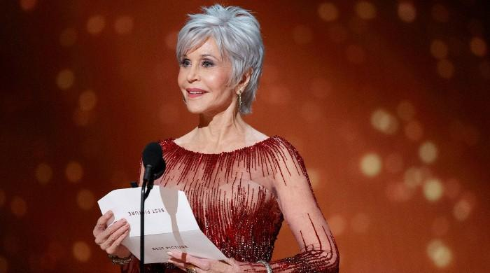 Jane Fonda calls for diversity as she accepts lifetime achievement award at Golden Globes