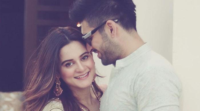Aiman, Muneeb Khan show off their Instagram followers to strangers