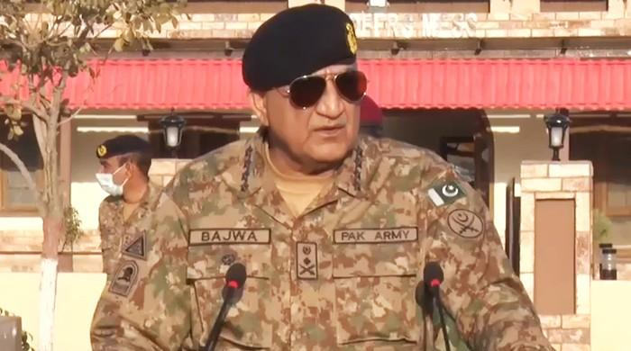 During his visit to Waziristan, the Army Chief called for vigilance against the opposition's efforts to achieve the backpad operation.