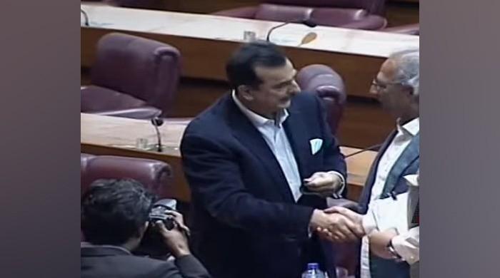 Senate election: PPP's Yousuf Raza Gilani defeated Hafeez Sheikh