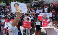 Myanmar anti-coup demonstrators return after bloodiest day since military coup