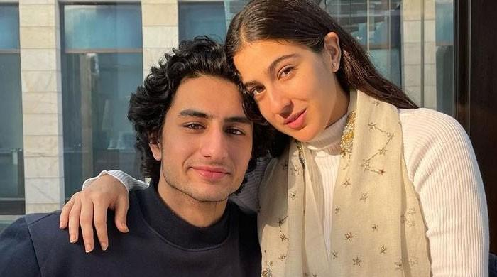Sara Ali Khan makes sweet promises to 'little brother' Ibrahim Ali Khan on his 20th birthday