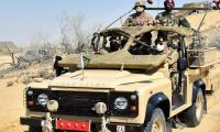 In Cholistan Desert visit, COAS says excellent training enhances capability to respond to threats
