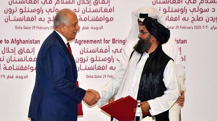 US envoy Khalilzad meets with Afghan Taliban for first time since President Biden took office