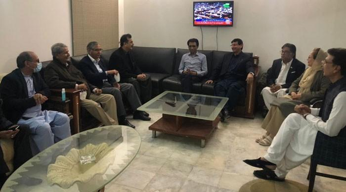 Gilani sought MQM support for the next Senate chairman election