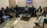 Gilani seeks MQM's support for upcoming Senate chairman polls