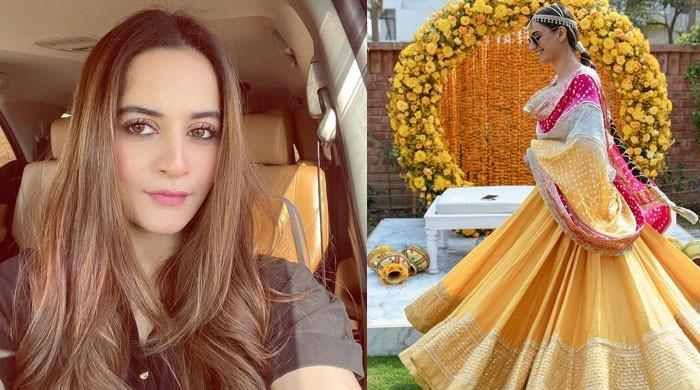 Aiman Khan showers love on 'cutie' Rehmat Ajmal, congratulates her on wedding