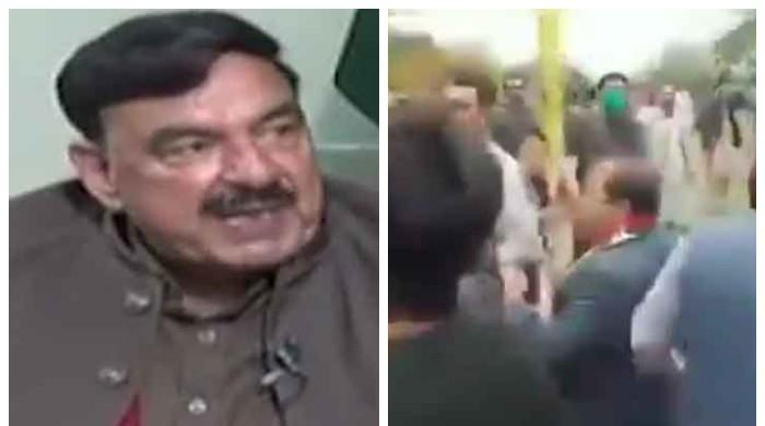 Sheikh Rashid says action will be taken against man who allegedly kicked PML-N's Maryam Aurangzeb