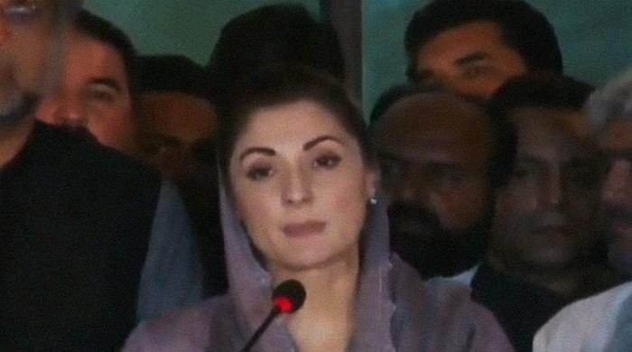 """You slapped us twice, we will slap you ten times,"" Maryam told the government."