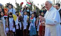 Pope Francis arrives in Mosul amid threats to meet Christian communities