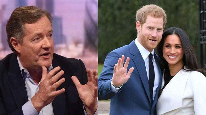 Meghan Markle, Prince Harry receive flak from Piers Morgan over 'disgraceful' interview