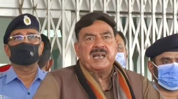 Sheikh Rashid says terrorists are reorganizing in Pakistan