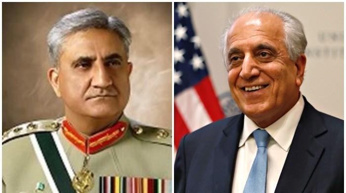 COAS General Bajwa, US envoy Zalmai Khalilzad discussed issues of mutual interest