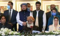PDM's long marach caravans to reach Islamabad by March 30: Fazl