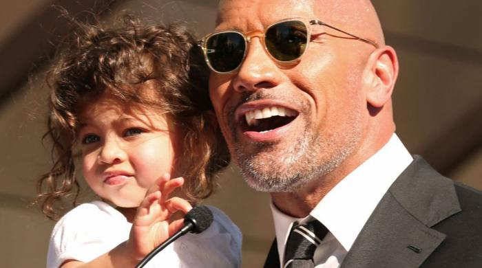 Dwayne Johnson leaves fans swooning after adorable video with daughter