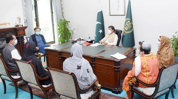 Prime Minister Imran Khan sought the 'correct status' of missing Baloch people