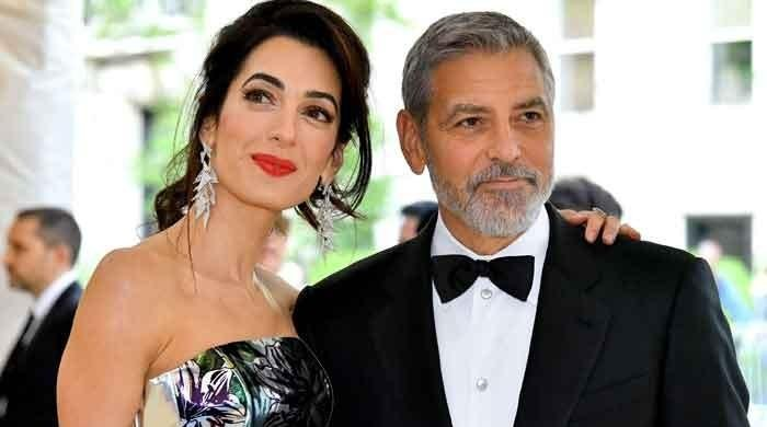 George Clooney teaching his kids to do 'terrible things' to tease their mom Amal