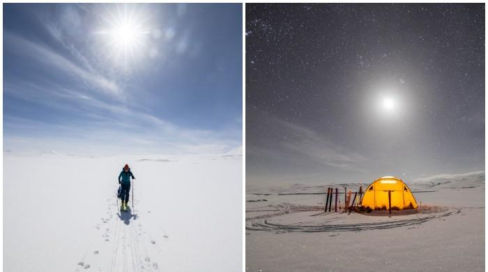 PM Imran Khan shares breathtaking photos of winter skiing in Deosai