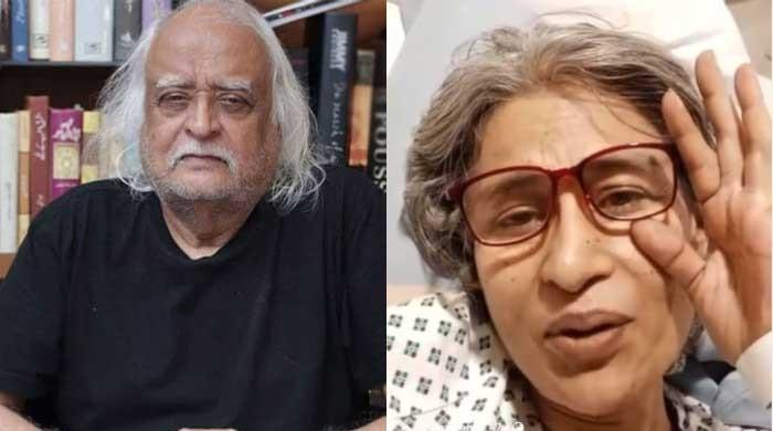 Naila Jaffrery asks Anwar Maqsood to write play for her as amid cancer battle