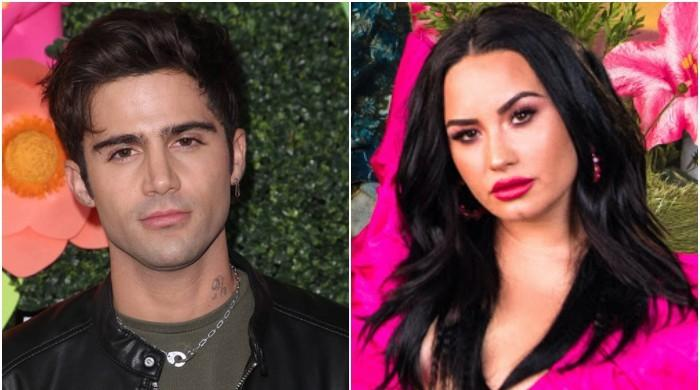 Demi Lovato breaks down in tears while 'missing' ex Max Ehrich
