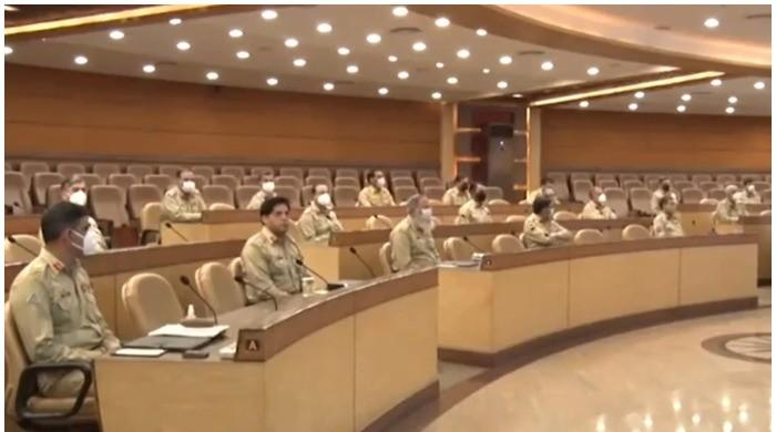 GHQ hosts 240th Corps Commanders Conference