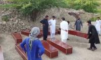 16 bodies dug out from Kohat mass grave, police say