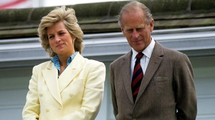 Prince Philip stood by Diana while she suffered in her stormy marriage to Charles