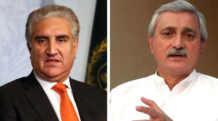 FM Qureshi asked Jahangir Tareen to end his reservations with Prime Minister Imran Khan