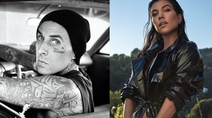 Travis Barker keeps ladylove Kourtney Kardashian close to his heart; here's how