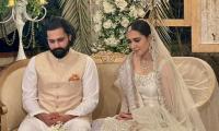 Mansha Pasha, Jibran Nasir get married