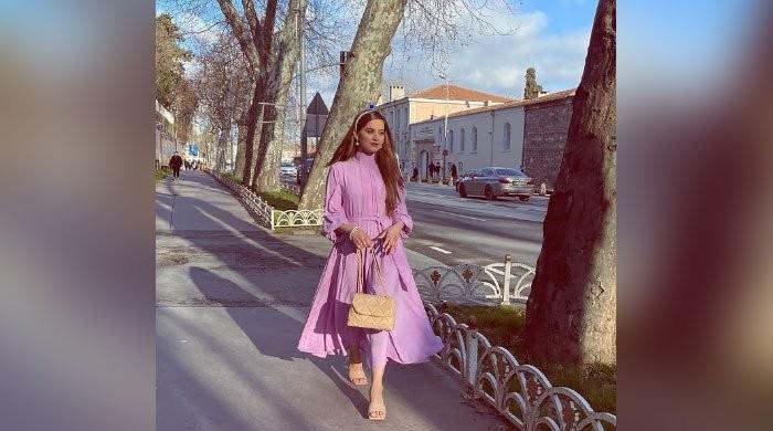 Aiman Khan extends Ramadan wishes to her fans