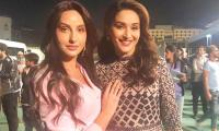 Nora Fatehi dances her heart out with Madhuri Dixit, video wins the internet