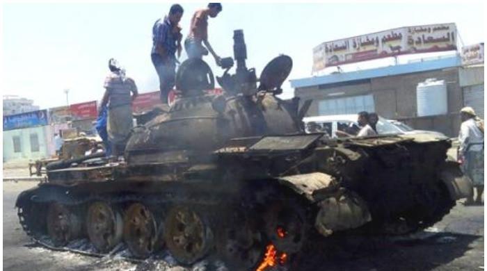 96 people die as heavy fighting takes place between troops, rebels in Yemen's Marib thumbnail