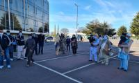 'Stuffed in one room like animals': British Pakistanis protest over poor facilities at London quarantine centre