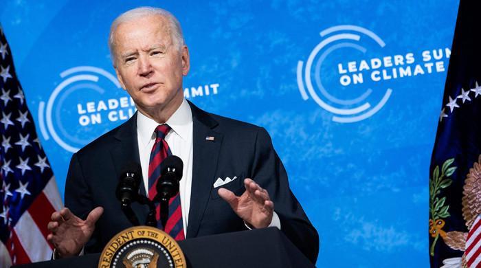 Joe Biden ramps up US ambition to slash greenhouse gas emissions as summit lifts climate hopes thumbnail