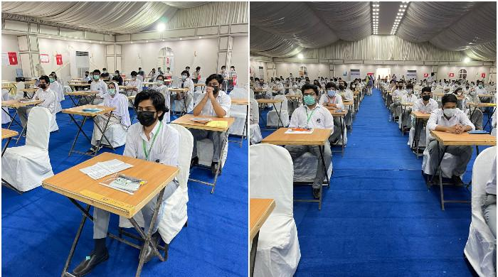 Amid the rise in COVID-19 in Pakistan, Cambridge exams are starting today