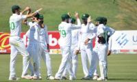Pakistan dominate first Test innings after Hasan, Shaheen skittle Zimbabwe