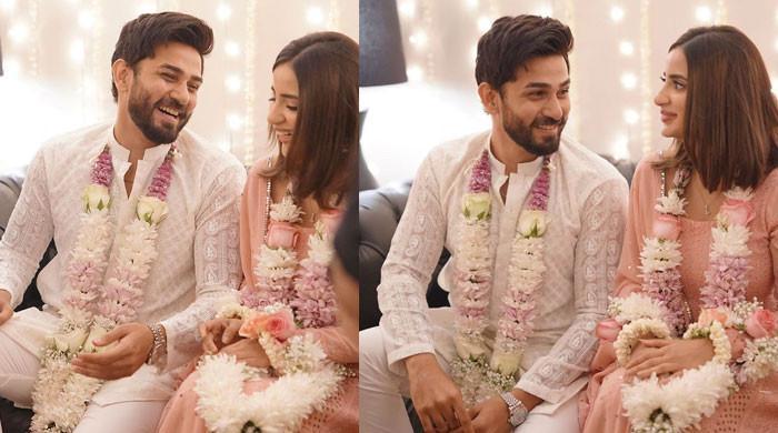 Saboor Aly, Ali Ansari confirm their engagement