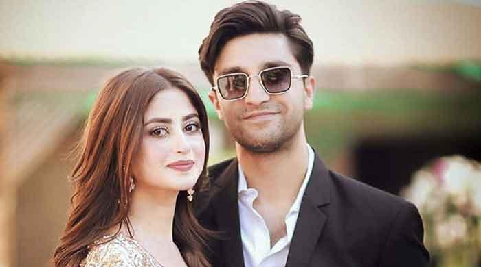 After Saboor Ali's engagement, Sajal Ali welcomes Ali Ansari to the family