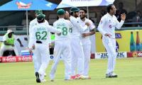 Pak vs Zim: Hasan Ali shines with career-best figures, leads Pakistan to win in first Test