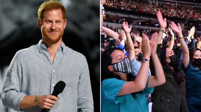 'Prince Harry's rock star welcome at Vax Live concert inflated his ego'