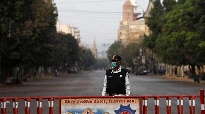Four cities in Karachi's Central District are locked