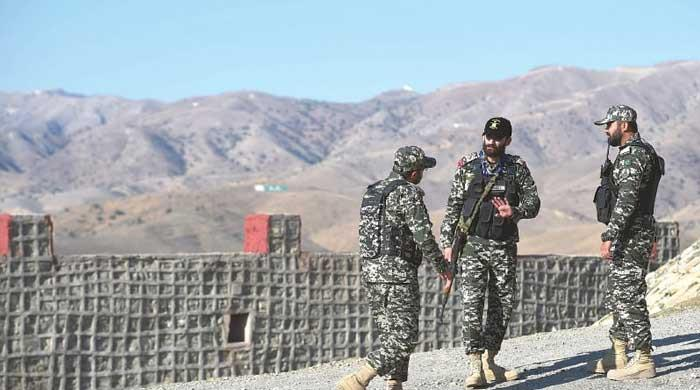 Four FC personnel martyred in a cross-border terrorist attack from Afghanistan