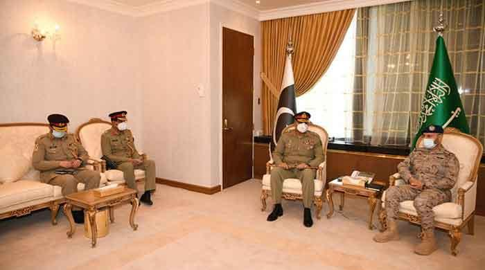 """General Bajwa has called for """"military-to-military cooperation"""" between Pakistan and Saudi Arabia"""