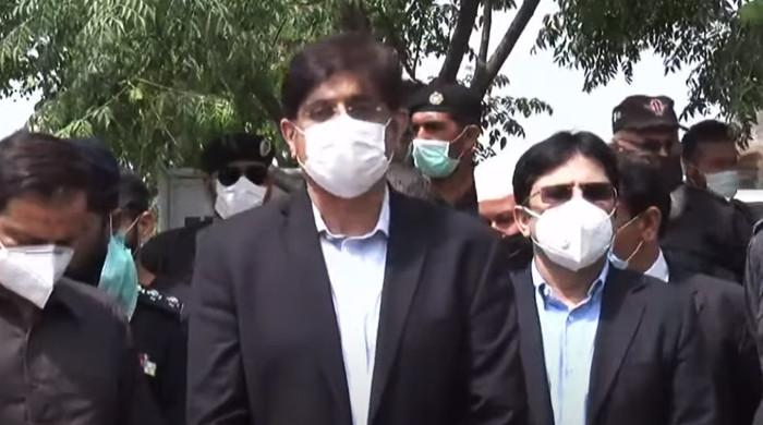 Chief Minister Shah criticized the federal government's policies to control the corona virus