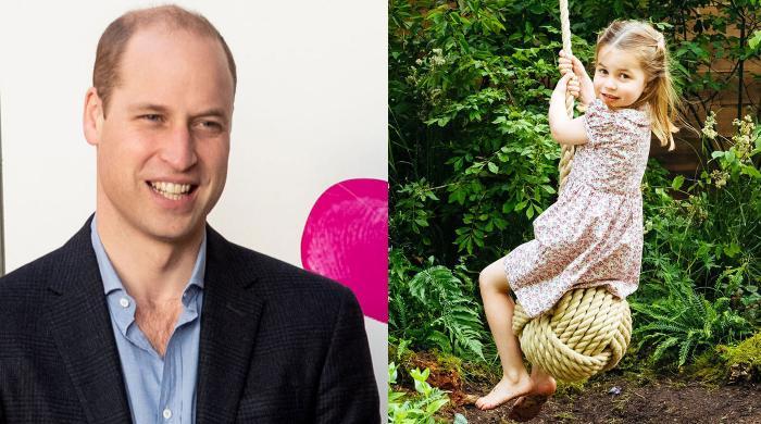 Prince William shares Princess Charlotte's hilarious age dilemma