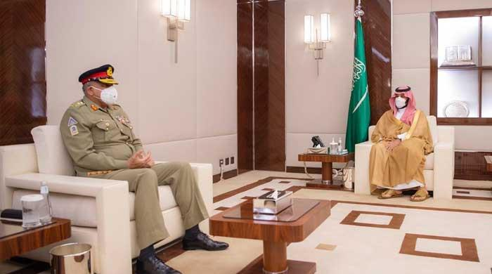 General Bajwa called on Muhammad bin Salman
