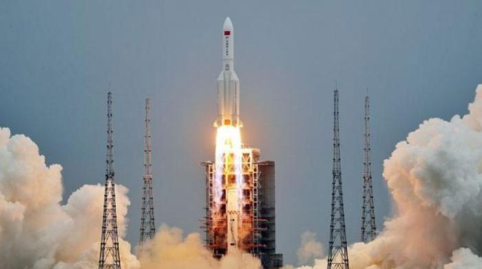 China's 18-tonne rocket in free fall towards Earth