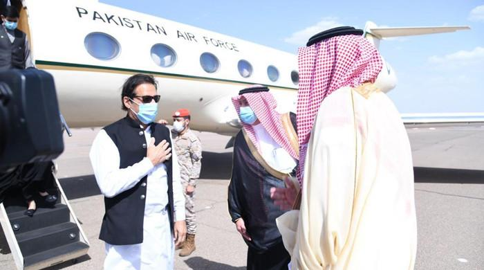 Prime Minister Imran Khan reached Madinah to offer condolences to the Holy Prophet (SAW)