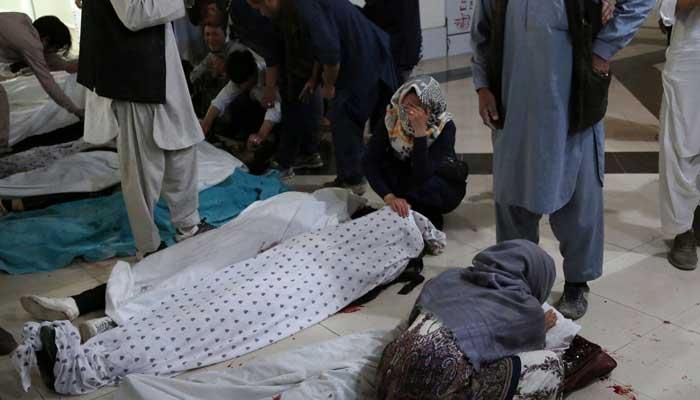 Deadly bomb blast kills at least 30 near Afghan girls' school
